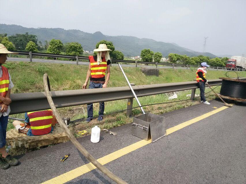 都江堰市建设工程公司GYTA33光缆案例
